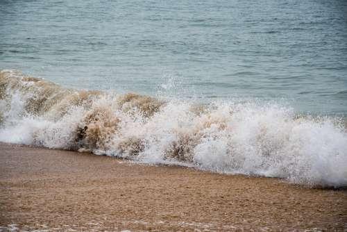 Water Sea Ocean Wave Waves Seascape