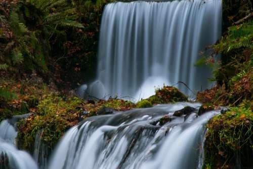 Waterfall Fall Water River