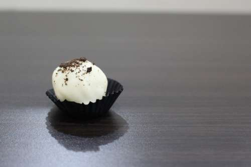 White Chocolate Treat Bites Sweet Snack