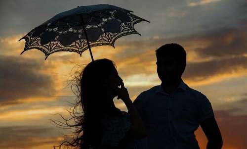 Woman Man Love Romantic Relationship Lovers