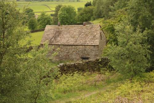 Yorkshire Stone Barn Building Stone Weathered