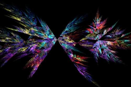 Apophysis flame fractal 50