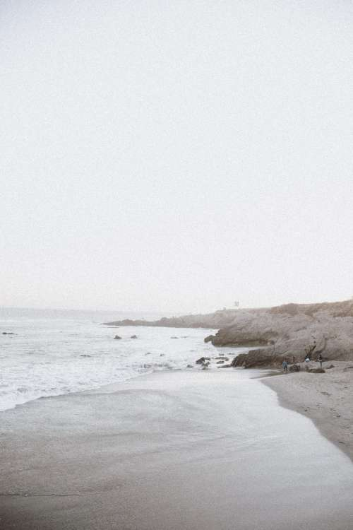 Long beach seaside