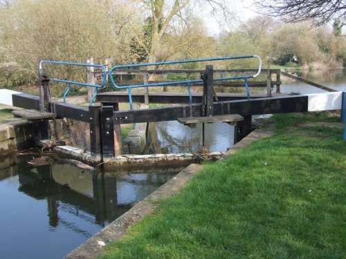 lockgate canal Beeleigh Maldon Essex
