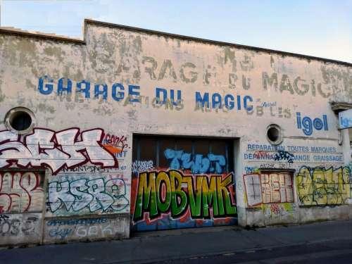 old garage magic garage lyon france old france