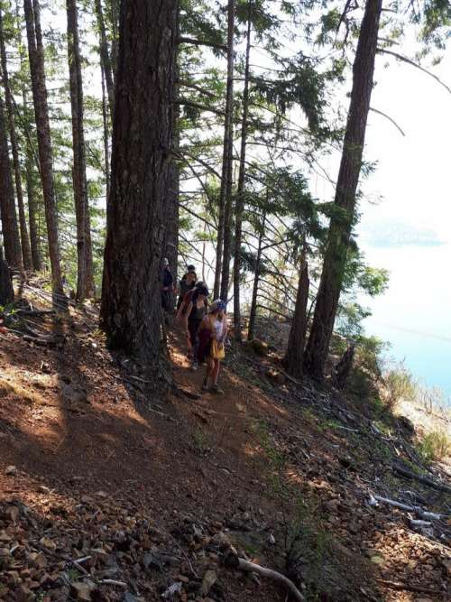 People hike hiking outdoors wilderness