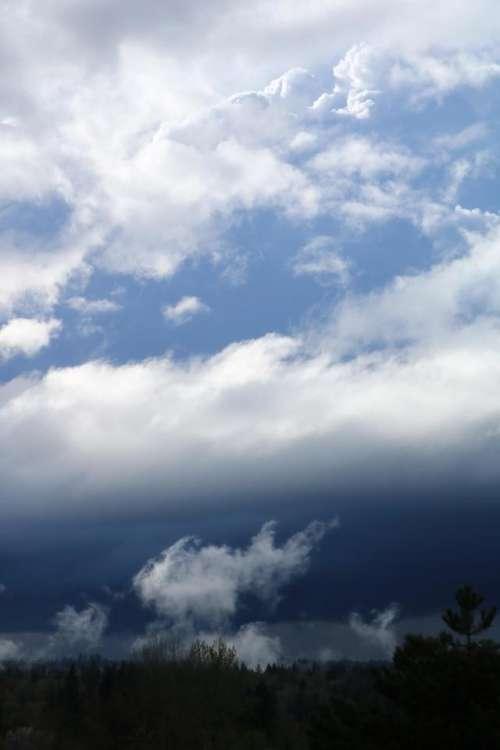 sky clouds stormy white gray
