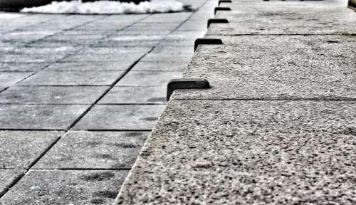 architecture defensive blocking obstruction skateboard