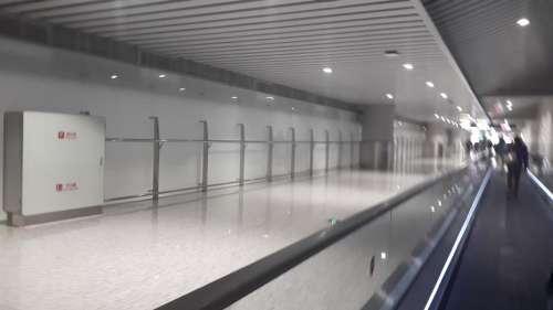 Hallway airport