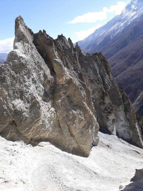 Himalays Himalaya mountains Nepal Asia scenic