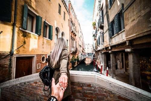 Couple in Venice, Italy Travel