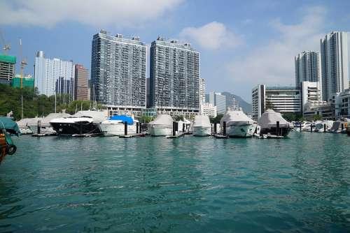 Aberdeen Harbour Harbor Traffic Hong Kong Tourism