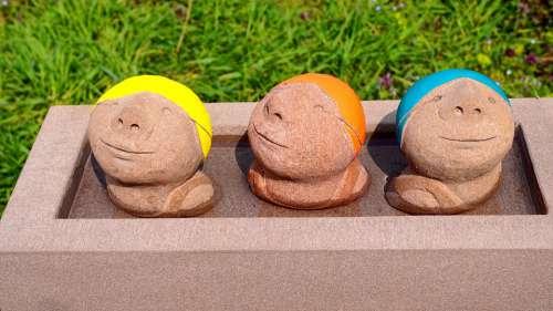 Art Sculpture Figure Artwork Stone Figure
