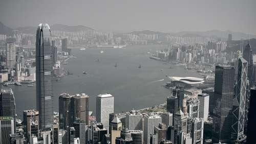 Asia China Architecture City Skyline Metropolis