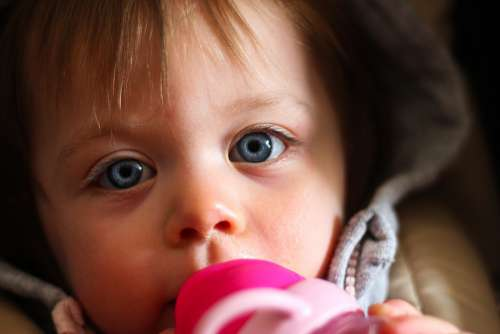 Baby Child Cute Infant Small Portrait Adorable
