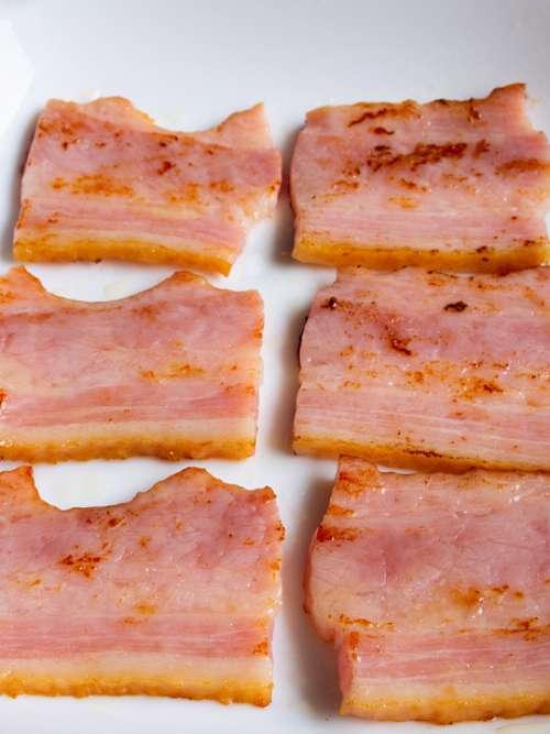 Bacon Meat Pork Food Delicious Ham Nutrition