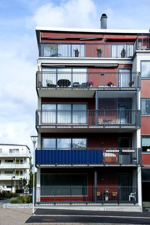 Balcony Building Architecture House Balconies