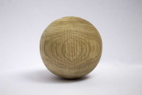 Ball Circle Tree Texture Crack Material Wood