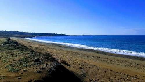 Beach Sand Sea Ocean Summer Water Nature