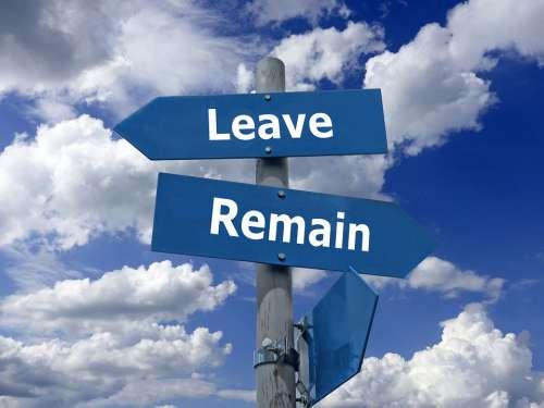 Brexit Leave Remain Europe Exit Uk Politics
