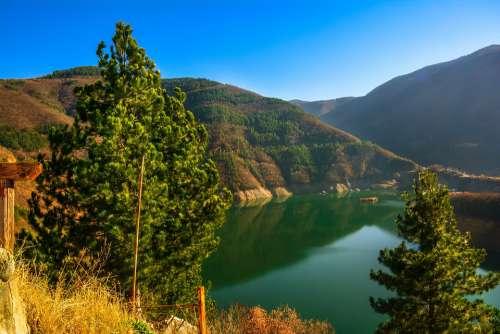Bulgaria Lake Nature Water Landscape Reflection