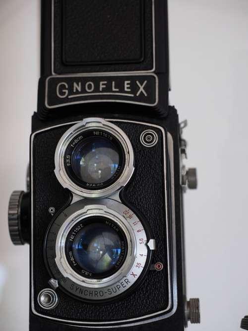 Camera Gnoflex Old Lens