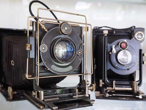 Camera Old Lens Photography Nostalgia Photo Camera