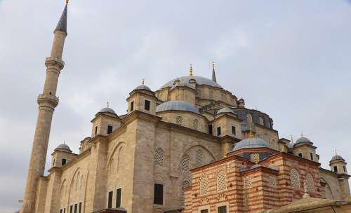 Cami Mosque Istanbul Fatih Turkey Minaret Islam
