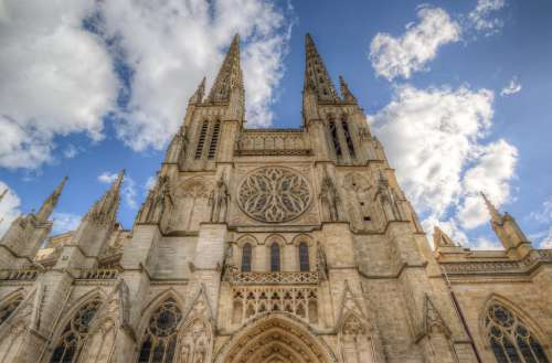 Cathedral France Bordeaux St Jean Church