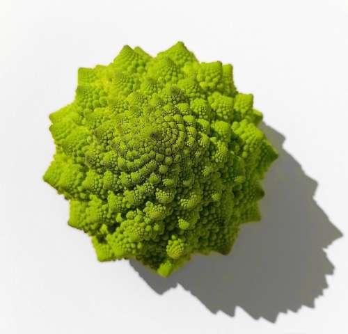 Cauliflower Green Mandelbrot Eat