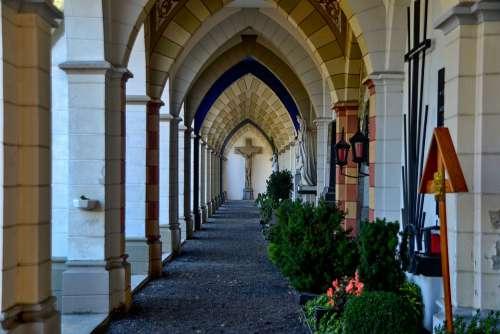 Cemetery Arcades Religion Architecture Ornament