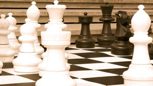 Chess Game Intelligence Strategy The Chessboard