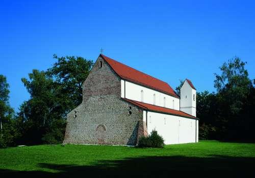 Church Rhaeto Romanic Architecture Monastery