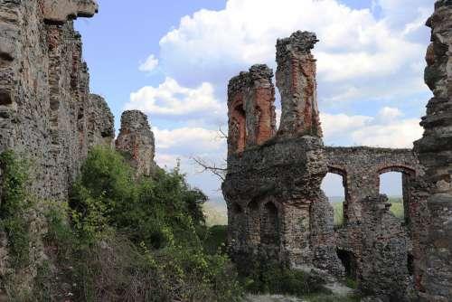 Citadel Soimos Lipova Romania Ruin View