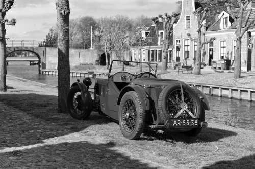 Classic Car Oldtimer Auto Vehicle Automotive