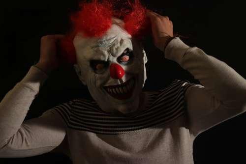 Clown Fond Noire