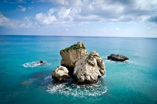 Cyprus Mediterranean Landscape Sea Stone Nature