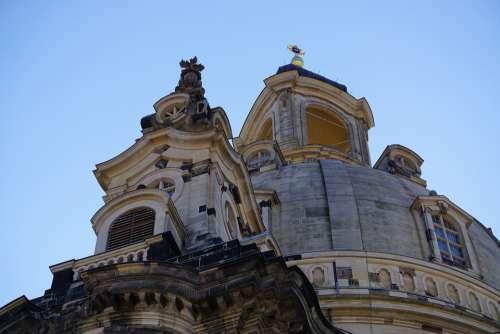 Dresden Church Germany Saxony Architecture