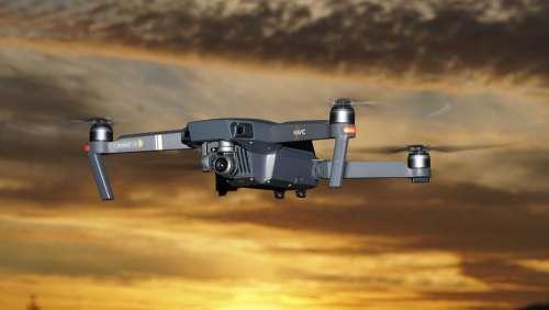 Drones Dji Dji Mavic Pro Sunset Flying Flight