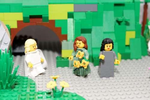 Easter Spring Lego Easter Story Christian Jesus