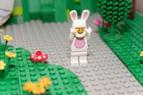 Easter Bunny Easter Rabbit Spring Lego