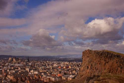 Edinburgh City Scotland Arthur'S Seat