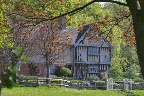 England Tudor Historic Architecture Old British