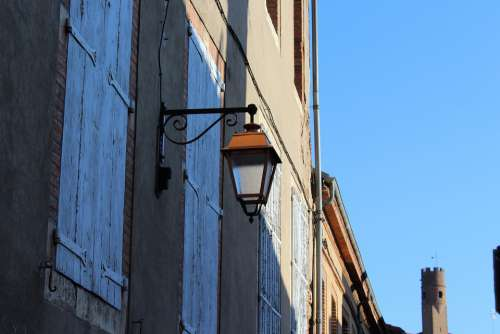 Everything Is Blue Blue Sky City Travel Lamp Albi