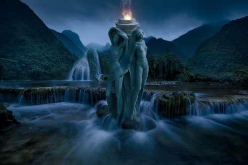 Fantasy Landscape Fantasy Landscape Gothic Dark