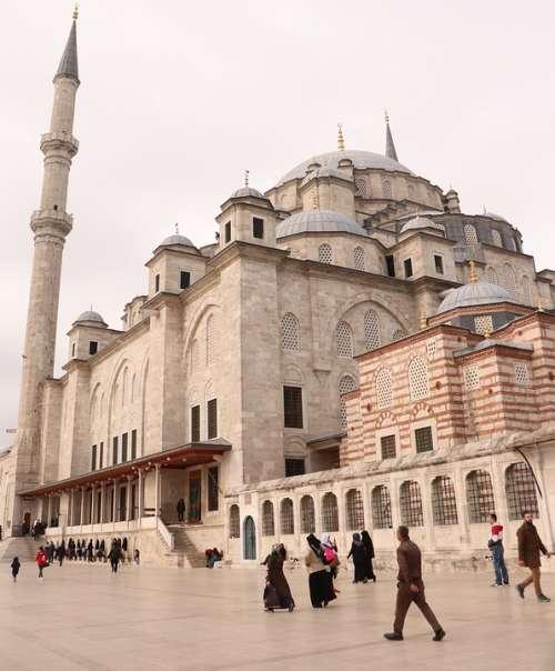 Fatih Cami Istanbul Architecture On Turkey Islam