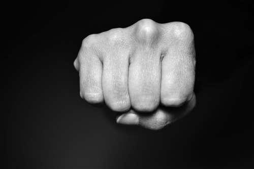 Fist Violence Attack Boxing Hand Aggression