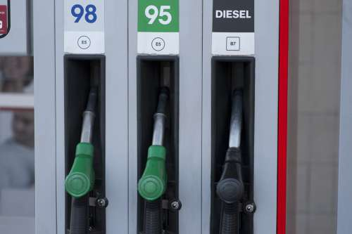 Gas Station Gas Fuel Petrol Gasoline Diesel Pump
