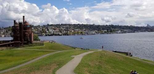 Gaswork Park Seattle Washington United States