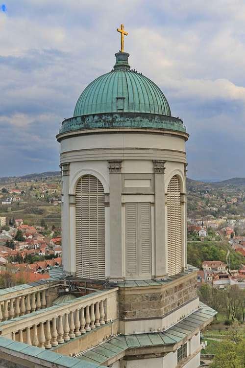 Hungary Esztergom Basilica Church Cathedral Dome